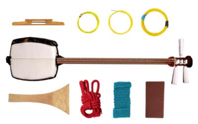 Das Anfänger-Set: Das braucht man zum Shamisen spielen